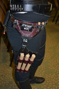 Close up holster