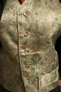 Waiscoat detail